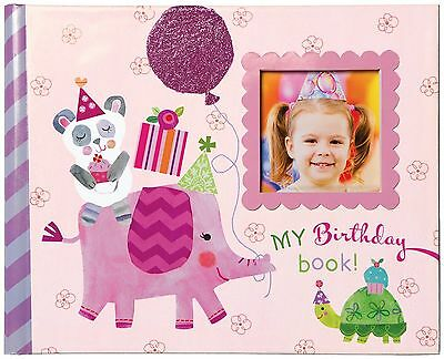 CRG Gibby and Libby Keepsake Photo Book Birthday Girl New