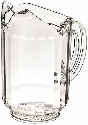 New Star 46229 Polycarbonate Plastic Restaurant Water Pitcher with 3 Spou... New