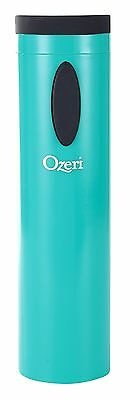 Ozeri OW08A-T Fascina Electric Wine Bottle Opener and Corkscrew Teal Blue New