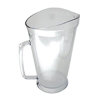 Co-Rect Plastic Pitcher 60 oz. Clear New