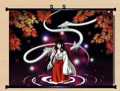 Japanese Anime InuYasha Roles Home Decor poster Wall Scroll    kk57