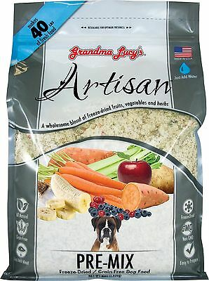 Grandma Lucy's 844021 Artisan Grain Free Premix Food for Dogs 8-Pound New