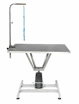 Go Pet Club HGT-501 36-Inch Pet Dog Hydraulic Grooming Table with Arm New