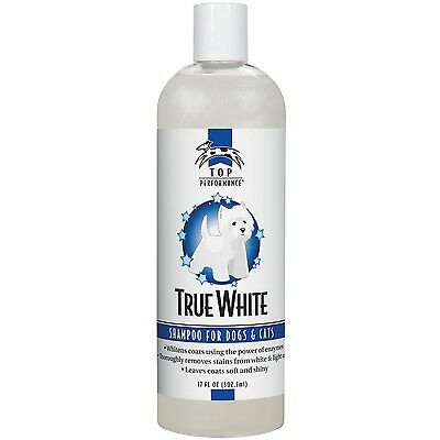 Top Performance TP606 17 True White Whitening Pet Shampoo 17-Ounce New