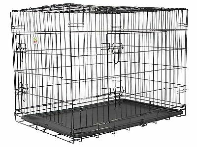 Go Pet Club MLD-36 36-Inch Metal Dog Crate with Divider New