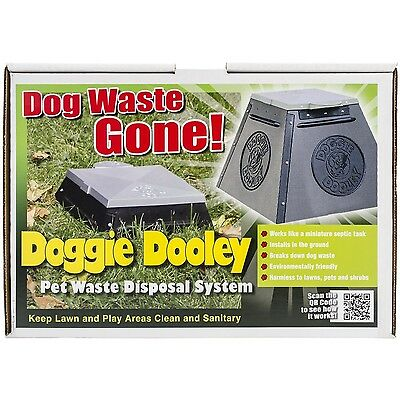 Doggie Dooley 3535 Small Leach-Bed-Style Dog Waste Disposal System for 1 ... New