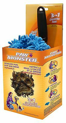 Paw Monster 3 in 1 Paw Cleaner New