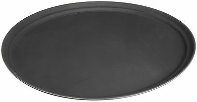 STANTON Trading Non Skid Rubber Lined 27-Inch Fiberglass Oval Serving Tra... New