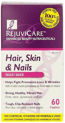 RejuviCare Hair Skin and Nail Caplets 60 Countt Bottle/IFC New