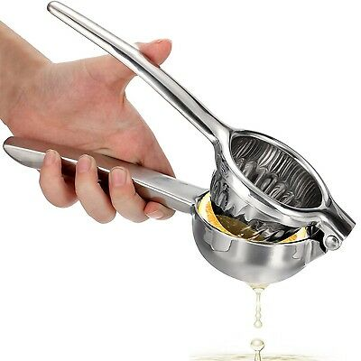 OVOS Citrus Juicer Lemon Squeezer Made From Unbreakable Stainless Steel 1... New