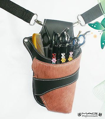 Macs Professional Hair Dressers Scissors Holder Holster /Pouch For MultiP... New