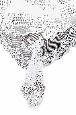 Ritz 69201 Lace Tablecloth 53-Inch by 73-Inch White New
