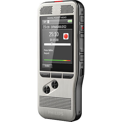 Philips DPM6000 Pocket Memo Digital Voice Recorder