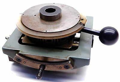 Lathe Mill Indexing Rotary Table Aciera Schaublin Habegger Neotor Etc.