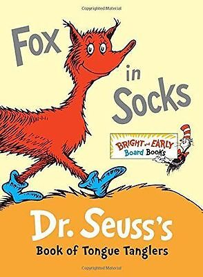 Brand New Kid's BookFOX In SOCKS Beginners by Dr Seuss - Fast Shipping
