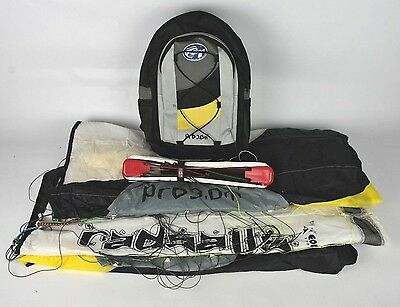 Radsails PRO 3, 3m Kite Surfing/Mountain Boarding, Kiteboarding, with bag |1527