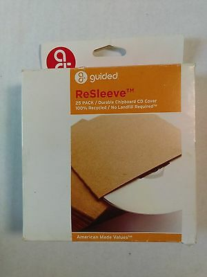Guided Brand - ReSleeve 25Pack CD Covers