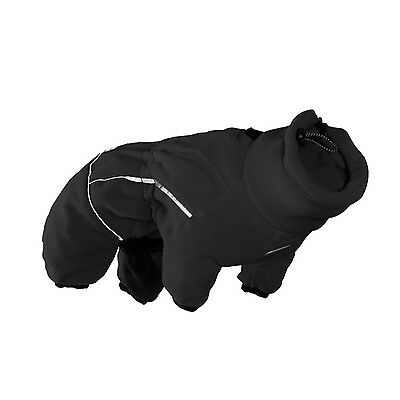 Hurtta HU931081 Collection Micro Fleece Jumpsuit for Dogs Black 8S New