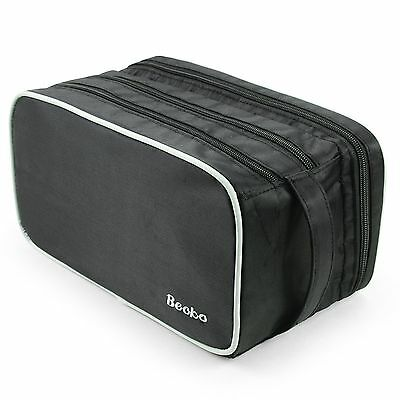 Becko Travel Toiletry Dopp Kit Travel Shaving Grooming Bag with Carry Han... New