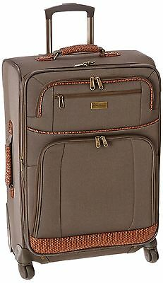 Tommy Bahama Mojito 24-Inch Expandable Spinner Suitcase Brownstone One Size New
