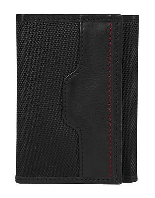 Travelon Safe Id Accent Trifold Wallet One Size Black New
