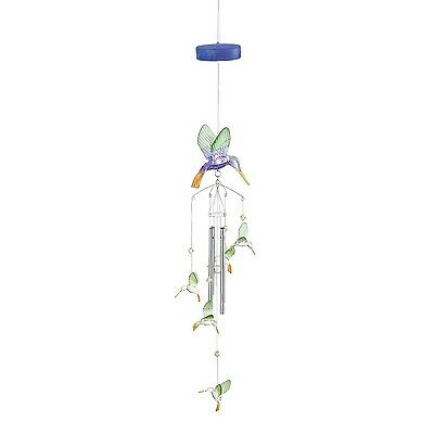 SWM 38432 Light-Up Hummingbird Windchime New