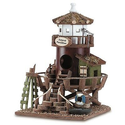 Lifeguard Station Birdhouse New