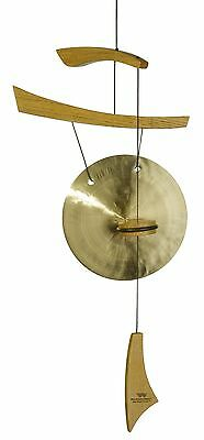 Woodstock Chimes Emperor Small Gong Natural Wood New