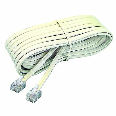 Softalk Modular Line and Extension Cords (SOF48106) Ivory 7 Foot New