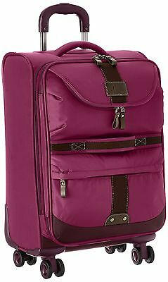 G.H. Bass Mckinley 21-Inch Carry-On Luggage Purple One Size New