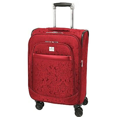 Ricardo Beverly Hills Imperial 20-Inch 4 Wheel Expandable Wheelaboard Red... New