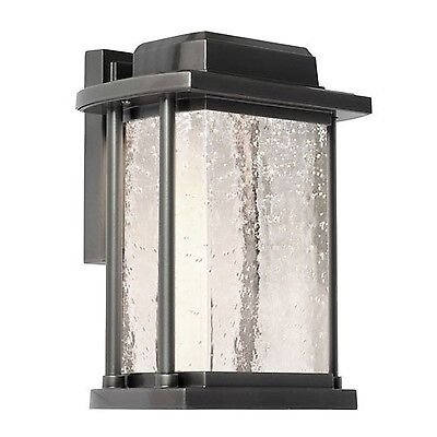 Artcraft Lighting Addison 1-Light Outdoor Wall Sconce Silver Leaf New