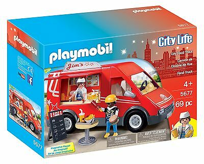 Playmobil 5677 Food Truck Playset New