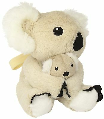 Cloud B Mama Koala and Baby with Soothing Sounds Natural Beige New