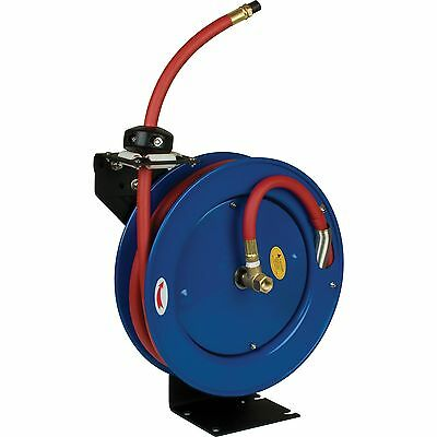 Performance Tool M608 Auto Retractable Hose Reel with 25-Foot Hose New