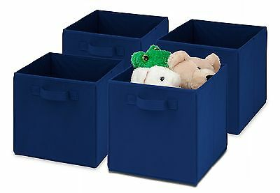 Honey-Can-Do International SFTZ01760 Kids Storage Bins Non-Woven Soft and... New