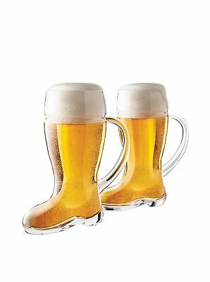 Final Touch Das Beer Boot with handle (2) 2 New