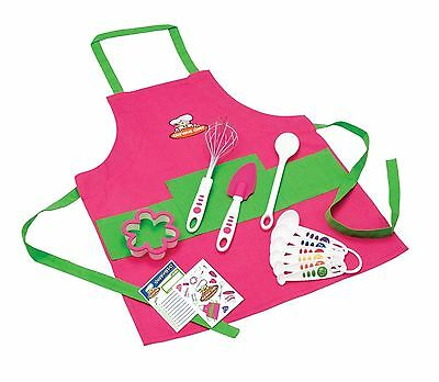 Curious Chef 11-Piece Girl's KitPink and Green Pink/Green New