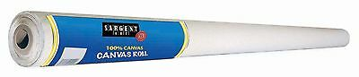 Sargent Art 90-1000 6 Yards Roll of 60-Inch-Wide Cotton Canvas New