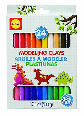 ALEX Toys - Artist Studio Modeling Clay with 24 Colors 266/24 New