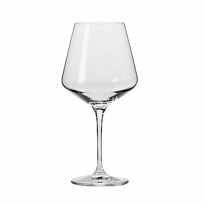 Krosno Household Essentials Vera Red Wine Glasses (Set of 6) 16-Ounce Clear New