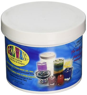 Yaley 23-Ounce Gel Candle Crafting Wax Clear New