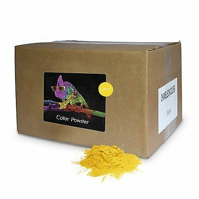 Color Powder Yellow 25lb box New