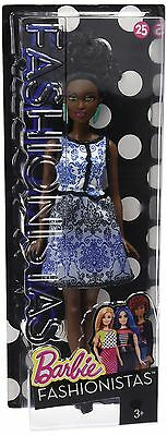 Barbie Fashionistas Doll 25 Blue Brocade - Petite Inquiries - by email New
