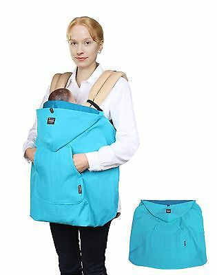 Manito Wind-Ban Baby Carrier Windbreaker (Blue) New
