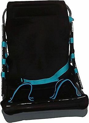 Wash That Baby Wall Mounted Shower Seat Black/Blue New