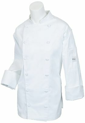 Mercer Culinary M62060WH3X Renaissance Women's Traditional Neck Jacket 3X... New