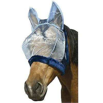 Intrepid International Charlie Bug-Off Shield Fly Mask with Ears Large Ho... New