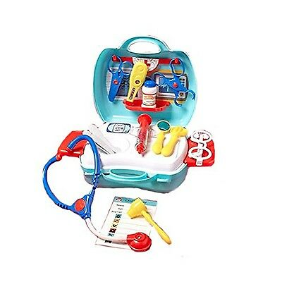 PlayGo MY CARRY ALONG MEDICAL CENTRE 20 pcs Pretend Doctor Play Take-Along New
