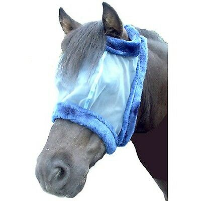 Intrepid International Charlie Bug-Off Shield Fly Mask without Ears Cob/P... New